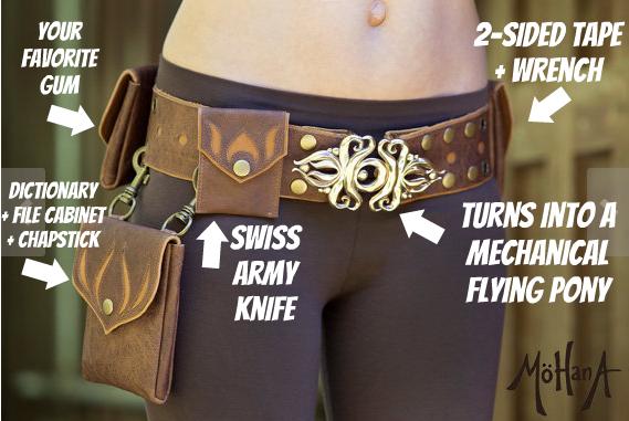 If Slack were a festival utility belt
