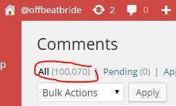 offbeat bride comments 100k